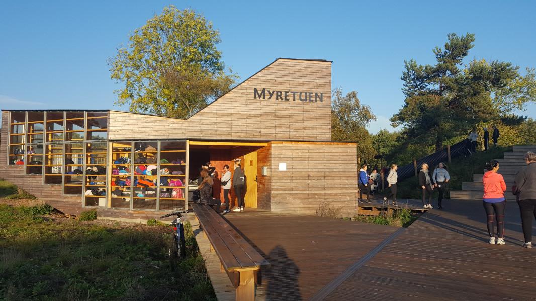 MYRETUEN - Hyggelige lokaler til naturnære aktiviteter